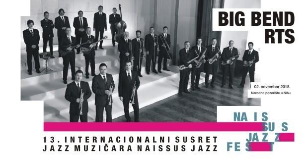 "Биг бенд РТС-а отвара ""Наисус џез фест"" у Алексинцу"
