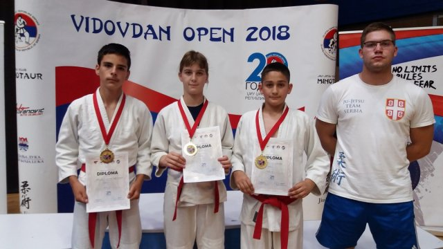Медаље на међународном џудо и џиу џицу турниру