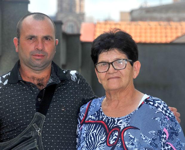 Mlađan sa Vericom Radivojević Foto I. Marinković