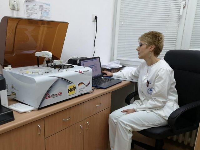 Нови апарат омогућио брже и квалитетније анализе; фото: Хелп