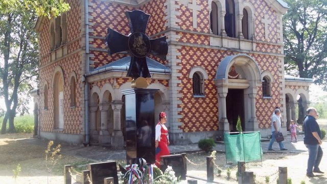 Obeležena 141. godišnjica od pogibije Nikolaja Nikolajevića Rajevskog u Gornjem Adrovcu
