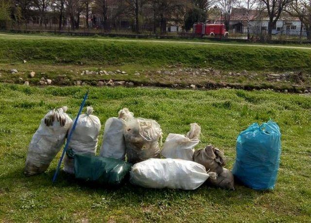 После једне од акција волонтера - фото Општина Алексинац