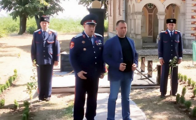 Sećanje na kozačke dobrovoljce
