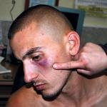 Курир: Полицајци га тукли, није хтео да им пере кола за џабе!