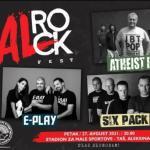 Velikim koncertom na Taš-u se završava Al rok fest