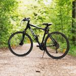 Отварање паркиралишта за бицикле и подела промотивног материјала, као и мерење крвног пристиска