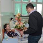 Чедомир Ракић обишао прворођену бебу у овој години