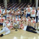 Мина Ђорђевић освојила титулу првака Србије са Црвеном звездом