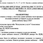 Саопштење ДС Алексинац - Неефикасно трошење новца