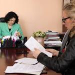U Nišavskom upravnom okrugu održan prijem građana na razgovor sa načelnicom Okruga Draganom Sotirovski
