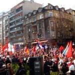 Почело рушење Блерове Владе Србије! (видео)