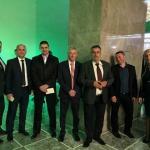 Politički vrh vladajuće strukture Aleksinca na prijemu kod predsednika