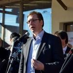 Vučić najavio izgradnju sistema za navodnjavanje u Aleksincu