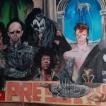 Несвакидашњи мурал краси зид омиљеног свратишта обожаваоца рок музике