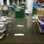 Opasnost- Poplavljena pijaca u Aleksincu