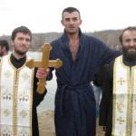 Profesor Šikman, prvi do krsta