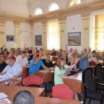 Конституисана Скупштина општине Алексинац, Грујица председник