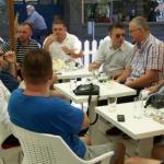 Dragan Šutanovac na kafi u Aleksincu