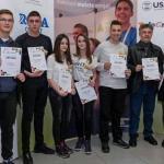 """Ученици Пољопривредне школе """"Шуматовац"""" освојили 2. место на Регионалном такмичењу ученичких компанија"""