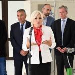 Зорана у Алексинцу: Инфраструктура је основ живота, уложили смо 4,6 милиона евра у фабрику пијаће воде