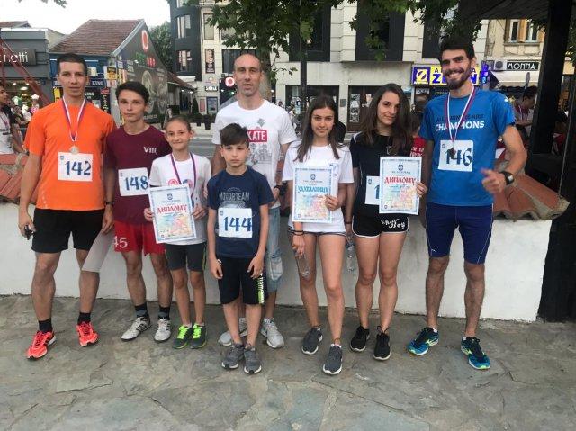 АК Напредак учествовао на Видовданској трци у Лесковцу