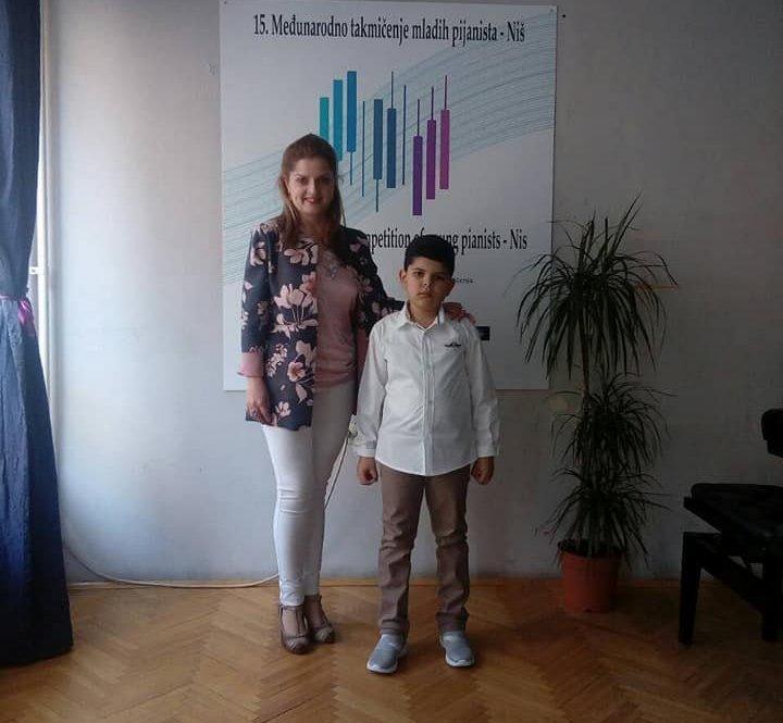 Veliki uspeh Alekse na međunarodnom takmičenju mladih pijanista