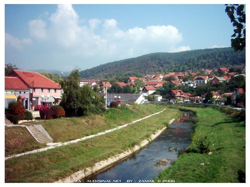 Grad i reka kroz grad, azbuka Hae5