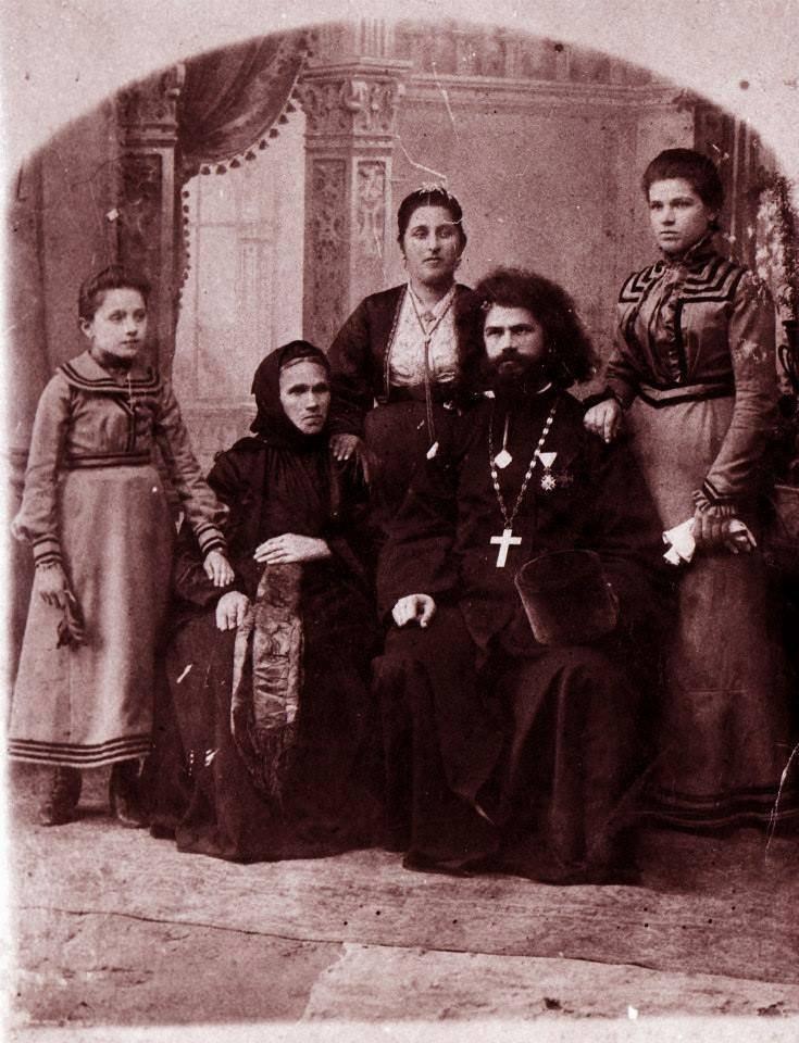 Porodična fotografija Prote Steve Dimitrijevića