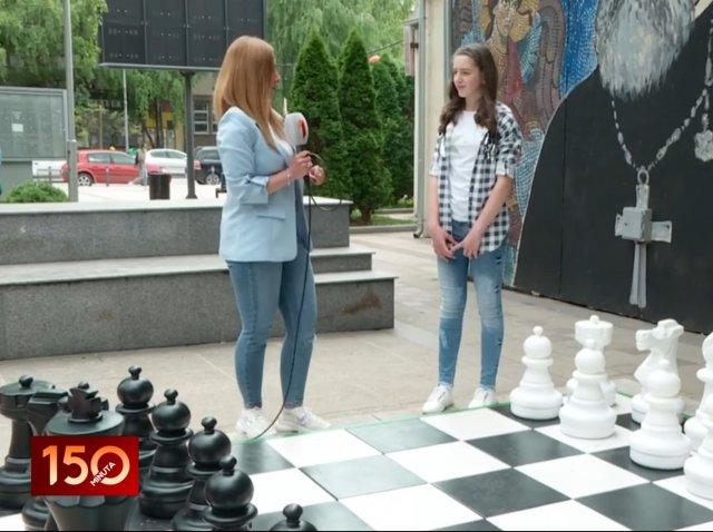 Partija šaha sa Anastasijom (Video)