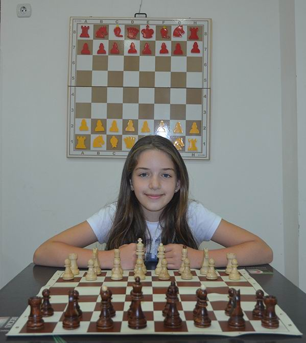 Наша млада суграђанка на Европском првенству у шаху