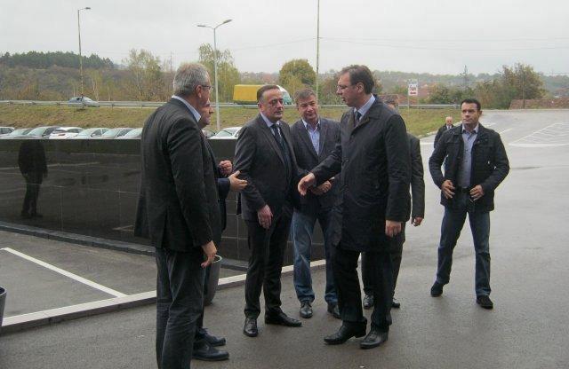 Premijer Vučić u Aleksincu