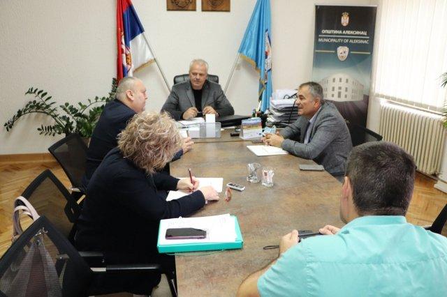 Predsednik Opštine održao sastanak sa novim načelnikom Nišavskog upravnog okruga
