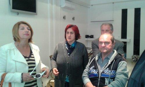 Биљана Јефтић у посети родном крају