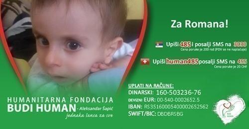 Pomoć za decu Roman Šarenac