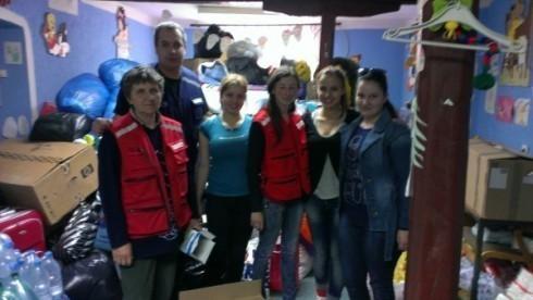 Црвени крст успешно прикупља помоћ