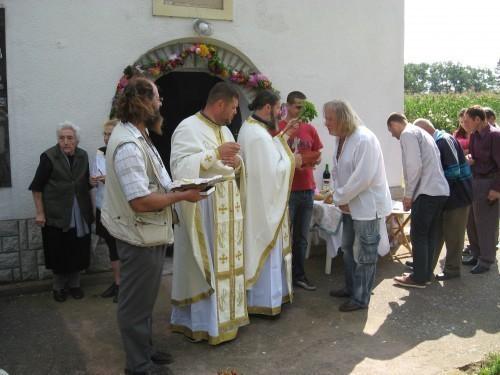 Одржан сабор Успенија Пресвете Богородице у Тешици