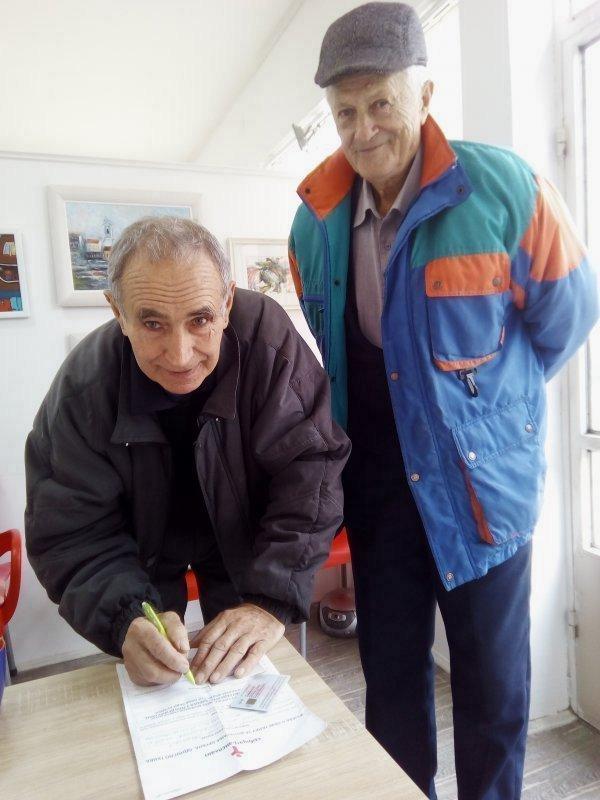Odbornik potpisao donorsku karticu
