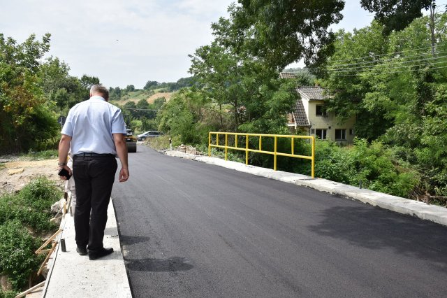Председник општине обишао радове на санацији моста на општинском путу Трњане - Јаковље