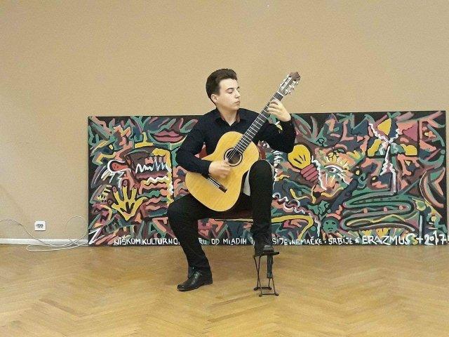 Damir Blagojević jedan od najtalentovanijih gitarista mlađe generacije