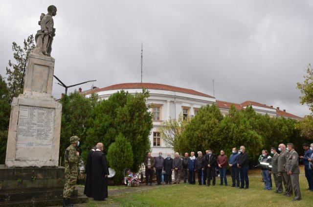Алексинац обележио 102 године од ослобођења у Првом и 76 година од ослобођења у Другом светском рату
