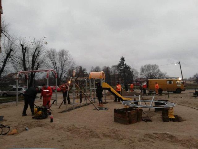 У току је изградња Нивеа дечијег игралишта у Алексинцу