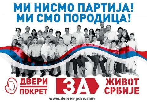 Tribina Pokreta Dveri – ZA Život Srbije