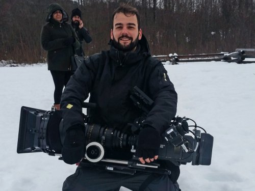 Даниел Матеић сниматељ у индијско-канадском филму