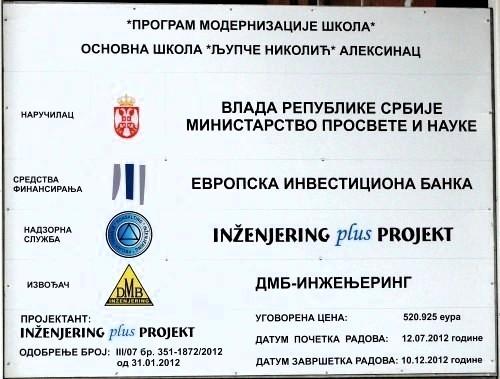 Neizvestan završetak škole Ljupče Nikolić