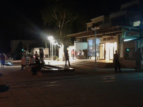 Noćni radovi na Platou