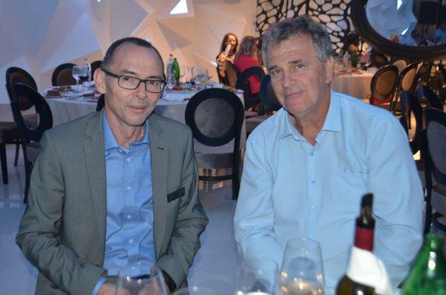 Dr Srboljub Branković i Dragan Veselinović