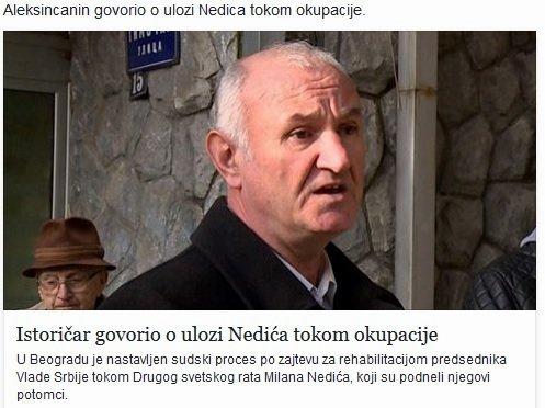 Aleksinčanin izneo ključne podatke za istinu o slučaju Nedić