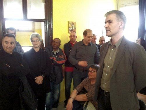 Душан Милисављевић посетио одбор ДС-а у Алексинцу