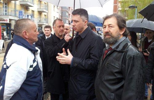 Бошко Обрадовић у посети Алексинцу