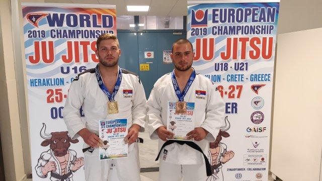 Извештај са Европског првенства у Грчкој за јуниоре и кадете у џиу џицу
